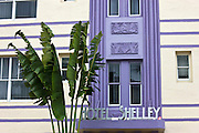 Hotel Shelley on Collins Avenue, at South Beach, Miami, Florida, USA