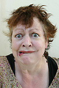 Comedian Jo Brand, photographed at Dulwich picture library, London. Jo Brand (born 23 July 1957) is a BAFTA winning English stand-up comedienne, writer and actress. She worked as a psychiatric nurse for ten years in Wales and South London.