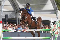 Rusen Angelique, GER, Mandato van de Neerheide<br /> Final 6 years  old Horses<br /> Zangersheide FEI World Breeding Jumping Championship 2018<br /> © Hippo Foto - Julien Counet