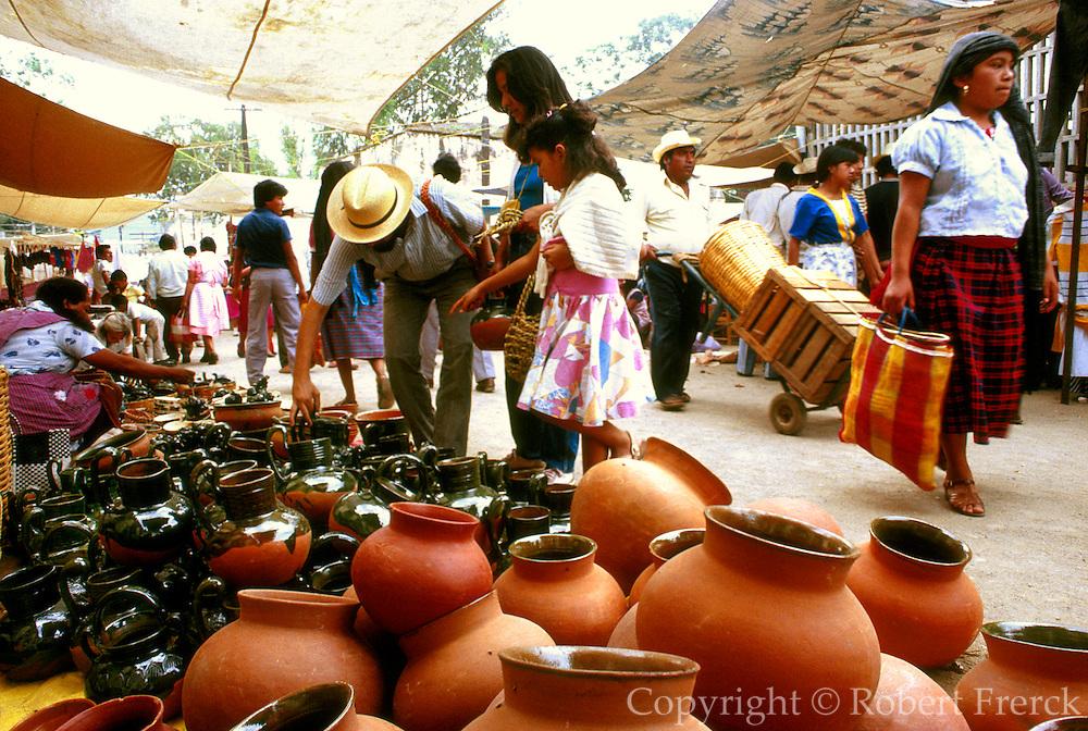 MEXICO, MARKETS, OAXACA Tlacolula, Zapotec indian market