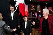 HARLAN COBEN; WILL COBEN; VAL MCDERMID  Specsavers Crime Thriller Awards.  Award ceremony celebrating the best in crime fiction and television. <br /> Grosvenor House Hotel, Park Lane, London. 21 October 2009