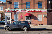 Bethel Born Again Church of Jesus Christ Apostolic, 1110 E 34th St., corner of Flatbush Avenue, Brooklyn.