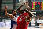 DESCRIZIONE : Cantu Lega A 2013-14 Acqua Vitasnella Cantu EA7 Emporio Armani Milano<br /> GIOCATORE : Gani Lawal<br /> CATEGORIA : Rimbalzo<br /> SQUADRA : EA7 Emporio Armani Milano<br /> EVENTO : Campionato Lega A 2013-2014<br /> GARA : Acqua Vitasnella Cantu EA7 Emporio Armani Milano<br /> DATA : 23/12/2013<br /> SPORT : Pallacanestro <br /> AUTORE : Agenzia Ciamillo-Castoria/G.Cottini<br /> Galleria : Lega Basket A 2013-2014  <br /> Fotonotizia : Cantu Lega A 2013-14 Acqua Vitasnella Cantu EA7 Emporio Armani Milano<br /> Predefinita :