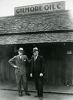 1934 Earl Gilmore & Scott Beach of Gilmore Oil Co.