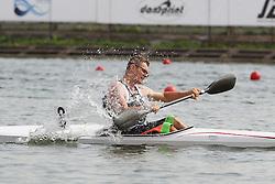 08.08.2014, Moskau, RUS, ICF, Kanu WM 2014, Tag 2, im Bild Christian Matthes (Regensburg) belegt bei der Kanu-WM in Moskau 2014 im KI Herren A den vierten Platz // durin day two of 2014 ICF Canoe Sprint World Championships in Moskau, Russia on 2014/08/08. EXPA Pictures © 2014, PhotoCredit: EXPA/ Eibner-Pressefoto/ Freise<br /> <br /> *****ATTENTION - OUT of GER*****