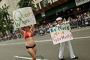 Sex workers in the 2011 Pride Parade on New York's Fifth Avenue.