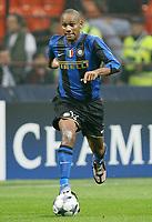 Fotball<br /> Italia<br /> Foto: Inside/Digitalsport<br /> NORWAY ONLY<br /> <br /> Douglas Sisenando Maicon (Inter)<br /> <br /> 22.10.2008<br /> Champions League 2008/2009<br /> Inter v Anorthosis Famagusta (1-0)