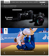 Judo during the Minsk European Games in Belarus shot for Team GB & Panasonic. Captured with the Lumix S1 | June 2019.