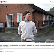 "Screengrab of ""House Repossessions in Ireland"" published in The New York Times"