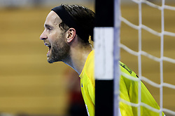 Silvio Heinevetter of Germany during handball match between National Teams of Algeria and Germany at Day 3 of IHF Men's Tokyo Olympic  Qualification tournament, on March 14, 2021 in Max-Schmeling-Halle, Berlin, Germany. Photo by Vid Ponikvar / Sportida