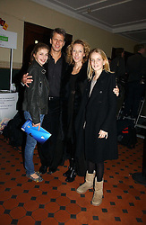 ANDREW CASTLE and his wife SOPHIA with their children, left GEORGINA and right CLAUDIA  at the opening night of Cirque Du Soleil's 'Alegria' held at the Royal Albert, London on 5th January 2007.<br /><br />NON EXCLUSIVE - WORLD RIGHTS