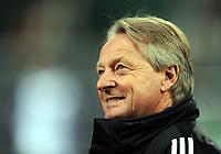 Fotball , 18. mars 2010<br /> Europa League <br /> VFL Wolfsburg - Rubin Kasan<br /> Trainer Lorenz-Guenter Koestner<br /> <br /> Norway only