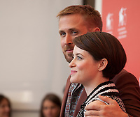 Ryan Gosling and Claire Foy at the photocall for the film First Man at the 75th Venice Film Festival, on Wednesday 29th August 2018, Venice Lido, Italy.