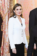013118 Spanish Royals attends a Reception to the diplomatic corps accredited in Spain