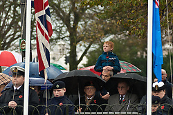 © under license to London News Pictures.  14/11/2010. Crowds gather at the rememberance service held in the Old Steine, Brighton.
