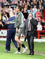 Photo: Mark Stephenson/Richard Lane Photography. <br /> Sheffield United v Cardiff City. Coca-Cola Championship. 19/04/2008. <br /> Bristol's manager Gary Johnson