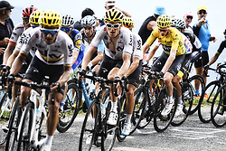 July 8, 2017 - Station Des Rousses, FRANCE - British Chris Froome of Team Sky pictured in action during the eighth stage of the 104th edition of the Tour de France cycling race, 187,5km from Dole to Station des Rousses, France, Saturday 08 July 2017. This year's Tour de France takes place from July first to July 23rd. BELGA PHOTO YORICK JANSENS (Credit Image: © Yorick Jansens/Belga via ZUMA Press)
