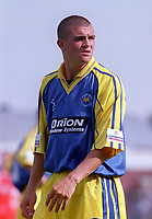 Steve Tully - Torquay.Kidderminater Harriers v Torquay United. League Division Three, 12/8/00. Credit Colorsport / Nick Kidd.