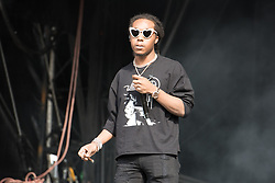 August 26, 2017 - Reading, Berkshire, UK - Reading Festival 2017, Reading, UK. Migos an American hip-hop trio.  Pictured: Takeoff. (Credit Image: © Andy Sturmey/London News Pictures via ZUMA Wire)