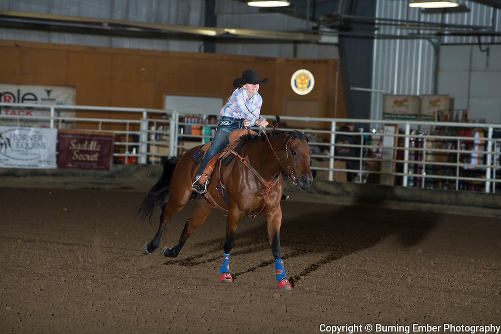 Amanda Harris at the Blitz Breakaway roping Sept 21st 2019.  Photo by Josh Homer/Burning Ember Photography.  Photo credit must be given on all uses.