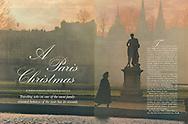 Travel Holiday Magazine, Paris Christmas Story