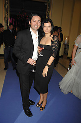 BRYAN MEEHN and ALI HEWSON at the 10th Anniversary Party of the Lavender Trust, Breast Cancer charity held at Claridge's, Brook Street, London on 1st May 2008.<br /><br />NON EXCLUSIVE - WORLD RIGHTS
