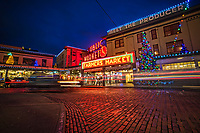 Pike Place Market, Holiday Season