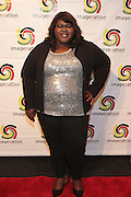 25 August New York, NY- Actress Gabourey Sidibe at the Imagenation Cinema Foundation Screening of '  Yelling to the Sky ' presented by the Imagenation Cinema Foundation and The Film Society of Lincoln Center held at the Walter Reade Theater at Lincoln Center on August 25, 2011 in New York, NY. Photo Credit: Terrence Jennings