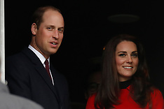 Prince William & Catherine in Paris for the Rugby - 18 March 2017