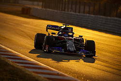 February 20, 2019 - Barcelona, Spain - KVYAT Daniil (rus), Scuderia Toro Rosso Honda STR14, action during Formula 1 winter tests from February 18 to 21, 2019 at Barcelona, Spain - Photo  /  Motorsports: FIA Formula One World Championship 2019, Test in Barcelona, (Credit Image: © Hoch Zwei via ZUMA Wire)