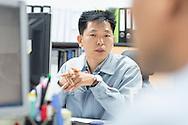 Korea / Icheon / May 2014<br /> <br /> Sk Hynix Plant in Icheon <br /> <br /> <br /> © Daniele Mattioli