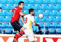 Fotball , 11. juni 2013 , Privatkamp , Norge - Makedonia<br /> Norway - FYR Macedonia<br /> <br /> Kim Andre Madsen ,  Norge<br /> Samir Fazli , Makedonia