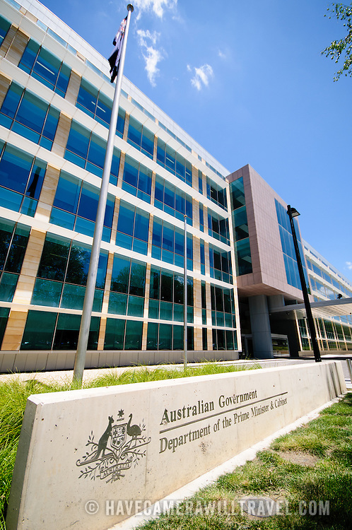 The office building for the Department of the Prime Minister and Cabinet.