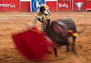 Bullfighter Paco Urena at the Plaza de Toros in San Miguel de Allende, Mexico. Bullfighter Paco Urena at the Plaza de Toros March 3, 2018 in San Miguel de Allende, Mexico.