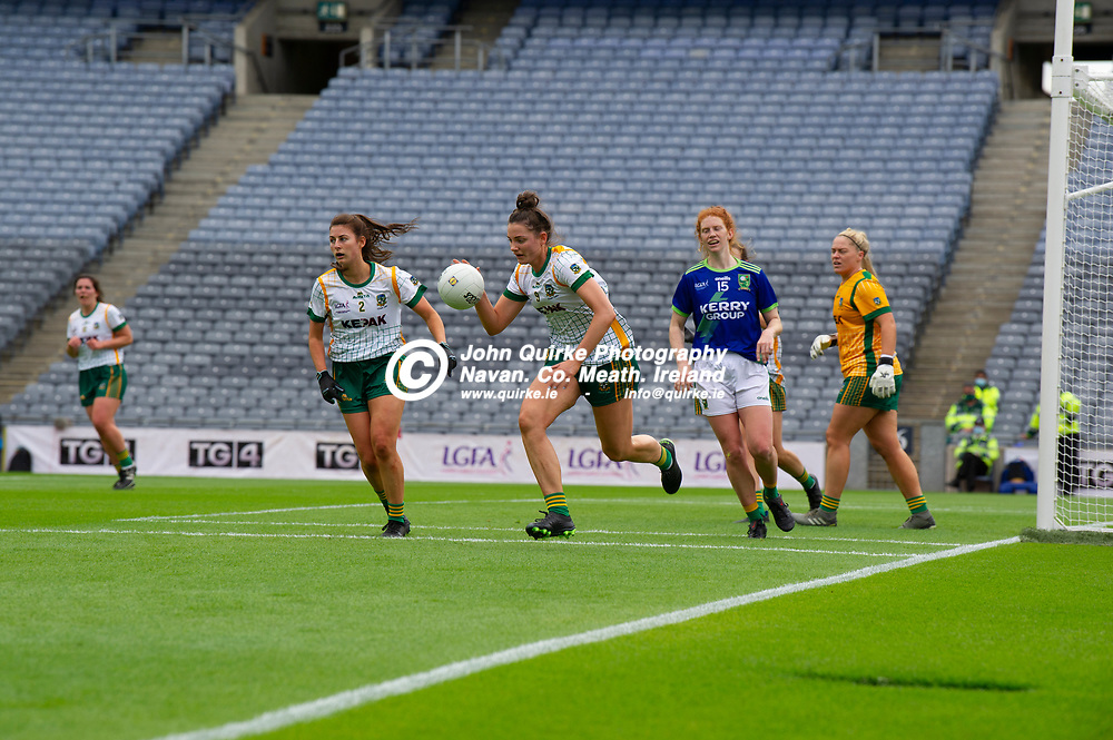 26-06-21. Meath v Kerry - Lidl Ladies National Football League Division 2 Final at Croke Park.<br /> Marie O'Shaughnessy, Meath in action against Kerry.<br /> Photo: John Quirke / www.quirke.ie<br /> ©John Quirke Photography, 16 Proudstown Road, Navan. Co. Meath. (info@quirke.ie / 046-9028461 / 087-2579454).