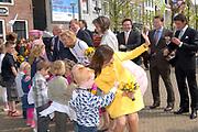 Koninginnedag 2008 / Queensday 2008. <br /> <br /> Koningin Beatrix viert Koninginnedag dit jaar in Friesland. De vorstin en haar familie bezochten op 30 april Makkum en Franeker.<br /> <br /> Queen Beatrix celebrates Queensday this year in Friesland (the Nothren provice in Holland). The Queen and its family visited Makkum and Franeker on 30 April.<br /> <br /> Op de foto/ On the Photo: The Dutch princeses