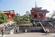 Japan, Honshu, Kyoto, Kiyomizu-Dera temple,