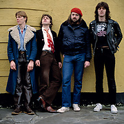 The Tyler Gang group photosession London 1980