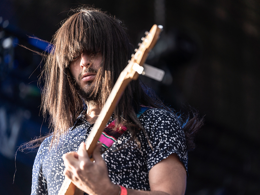 Mark Speer of American psychedelic-funk band Khruangbin at Haldern Pop Festival