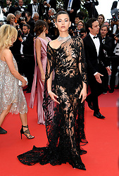 Georgia Fowler attending the Solo: A Star Wars Story premiere at the 71st Cannes Film Festival
