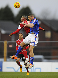 - Photo mandatory by-line: Joe Meredith/JMP - Tel: Mobile: 07966 386802 08/02/2014 - SPORT - FOOTBALL - Oldham - Boundary Park - Oldham Athletic v Bristol City - Sky Bet League One