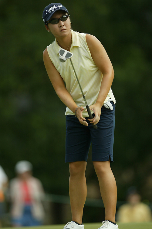 Candie Kung.2003 Samsung World Championship.3rd Round.TPC at the Woodlands.The Woodlands, TX.Saturday, October 11 2003..photograph by Darren Carroll