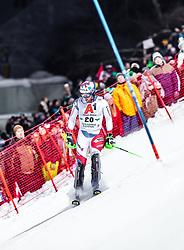 "29.01.2019, Planai, Schladming, AUT, FIS Weltcup Ski Alpin, Slalom, Herren, 1. Lauf, im Bild Luca Aerni (SUI) // Luca Aerni (SUI) DNF his 1st run of men's Slalom ""the Nightrace"" of FIS ski alpine world cup at the Planai in Schladming, Austria on 2019/01/29. EXPA Pictures © 2019, PhotoCredit: EXPA/ JFK"