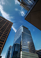 Architectural image of Central Place Office Building in Rosslyn Virginia by Michael Sauers of Commercial Photographics, DC Architectural Photographer