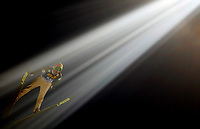 Hopp<br /> Bischofshofen<br /> 05.01.2011<br /> Foto: Gepa/Digitalsport<br /> NORWAY ONLY<br /> <br /> FIS Weltcup, Vierschanzen-Tournee, Training und Qualifikation. <br /> <br /> Bild zeigt Johan Remen Evensen (NOR)