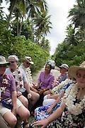 Truck tour, Niuatoputapu, Tonga