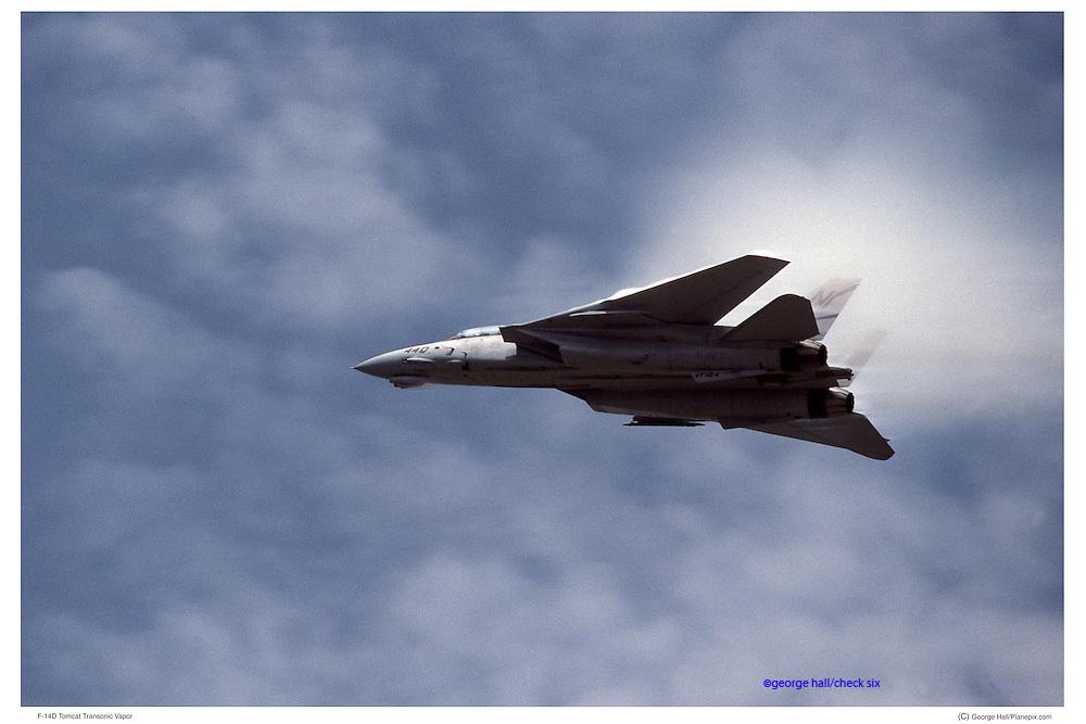 F-14D passing Mach I