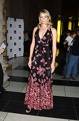 Model JODIE KIDD at the 2005 British Fashion Awards were held at The V&A museum, London on 10th November 2005.<br /><br />NON EXCLUSIVE - WORLD RIGHTS