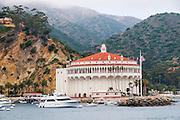 The Catalina Casino in the City of Avalon on Catalina Island