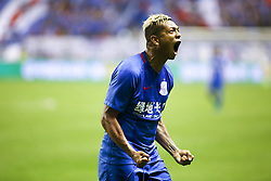 June 22, 2017 - Shanghai, Shanghai, China - Shanghai, CHINA-June 21 2017: (EDITORIAL USE ONLY. CHINA OUT) ..Shanghai Shenhua Team defeats Beijing Guo'an Team with 1:0 at a match during the Chinese Football Association Cup (CFA Cup) in Shanghai, June 21st, 2017. (Credit Image: © SIPA Asia via ZUMA Wire)
